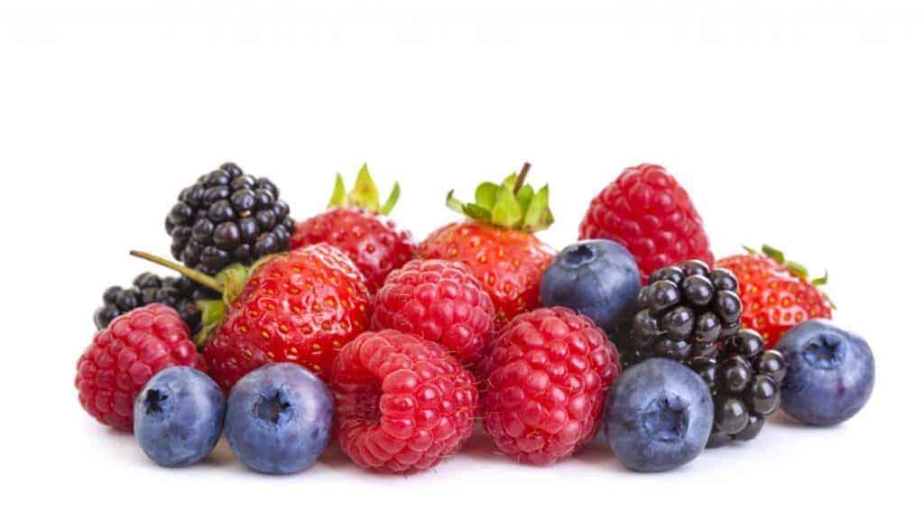 berries, cholesterol, blood pressure, antioxidants