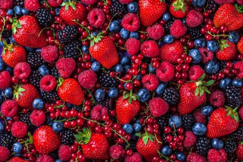 berries for CKD, healthy food for chronic kidney disease